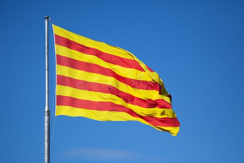 Indicateur catalan images stock