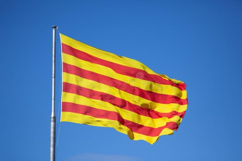 Indicateur catalan photo stock