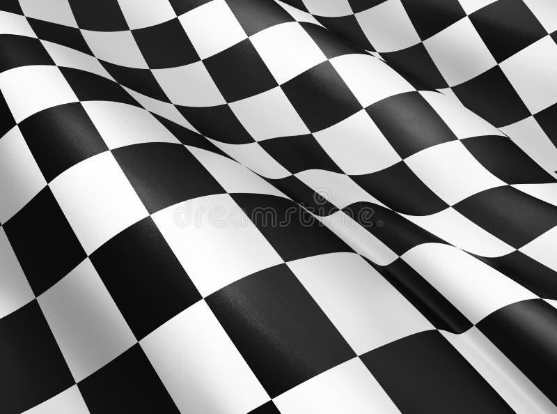 Indicateur Checkered illustration libre de droits