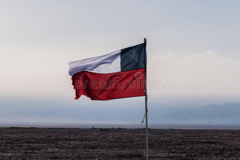 Indicateur chilien photographie stock libre de droits