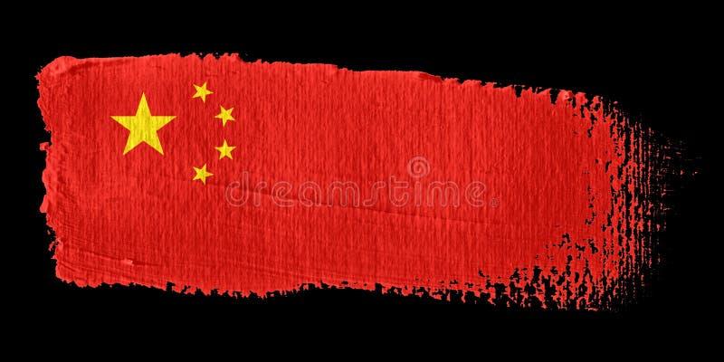 Indicateur Chine de traçage illustration libre de droits
