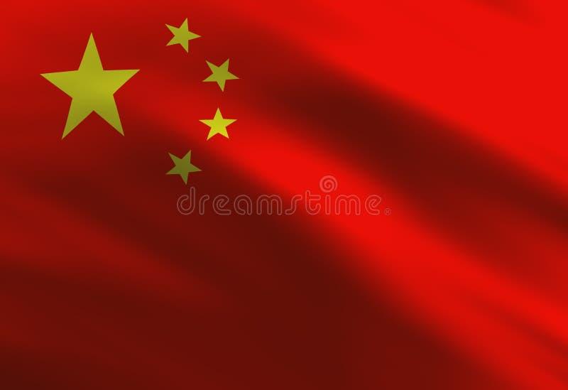 Indicateur chinois illustration stock