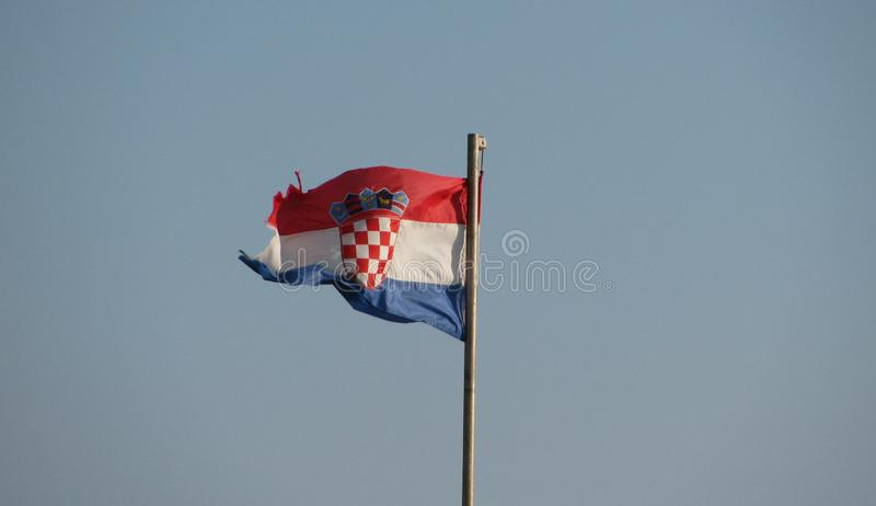 Indicateur croate photos stock