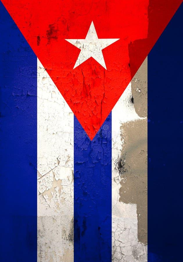 Indicateur cubain superficiel par les agents image libre de droits