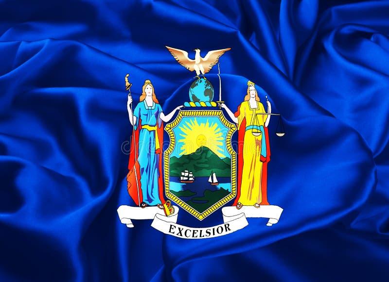 Indicateur d'état de New York illustration libre de droits