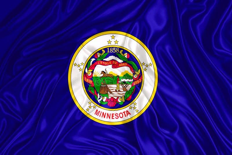 Indicateur d'état du Minnesota illustration libre de droits