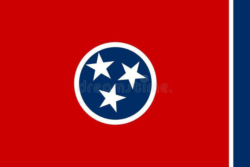 Indicateur d'état du Tennessee illustration stock