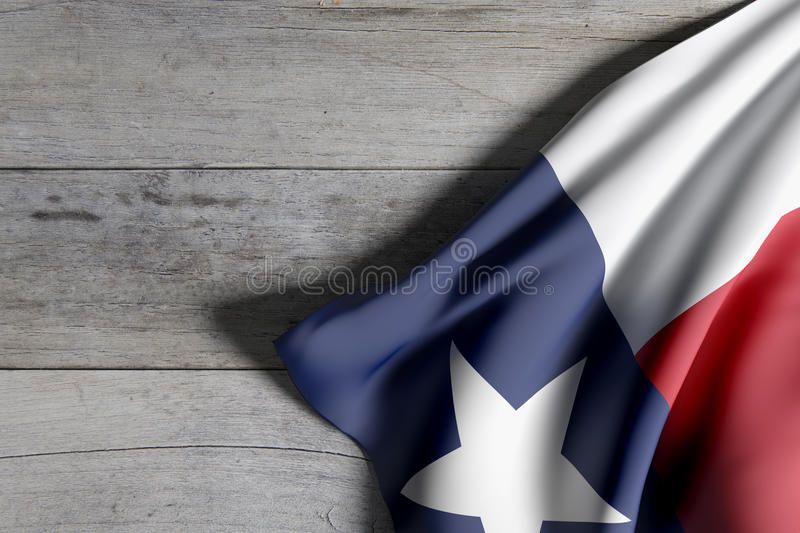 Indicateur d'état du Texas illustration stock