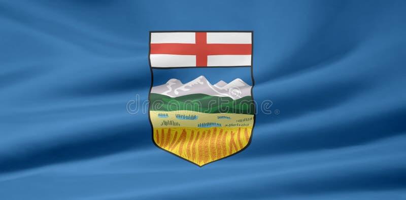 Indicateur d'Alberta illustration libre de droits