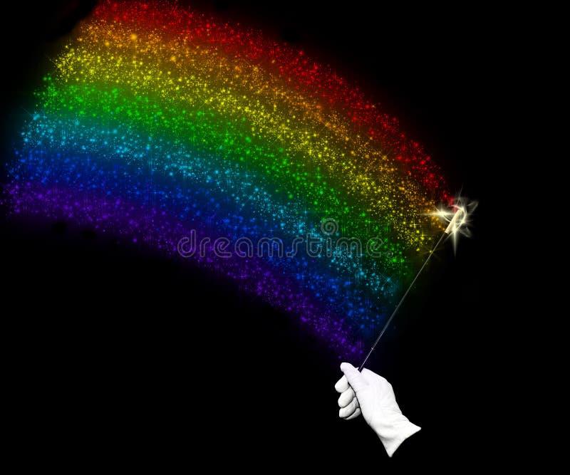 Indicateur d'arc-en-ciel illustration de vecteur