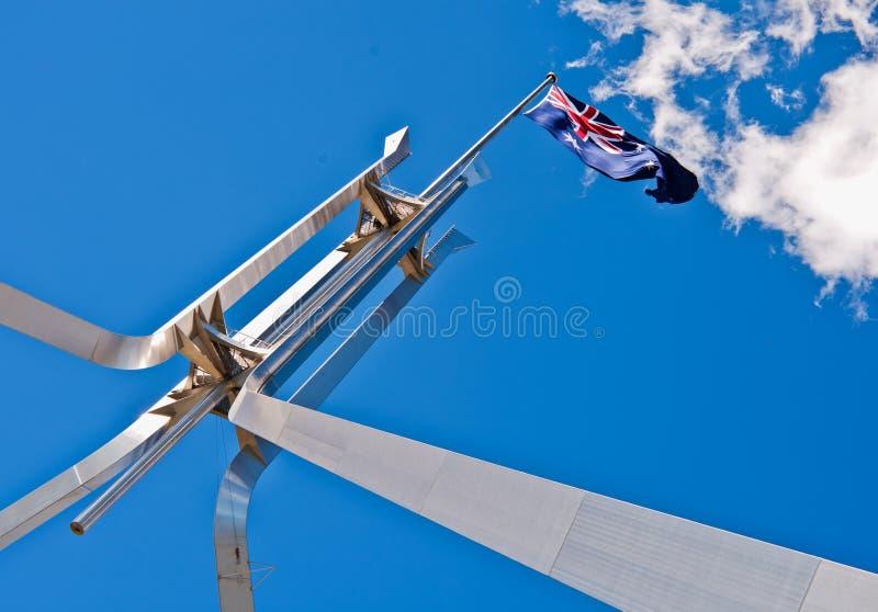 Indicateur d'Ausralian à la Chambre du Parlement photos libres de droits
