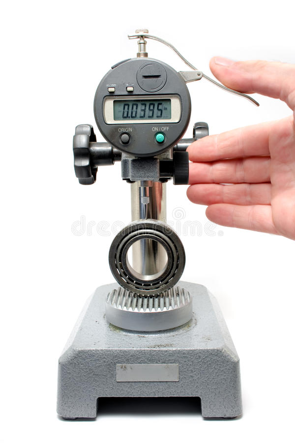 Indicateur d'essai de Digitals d'appareillage de mesure photos stock