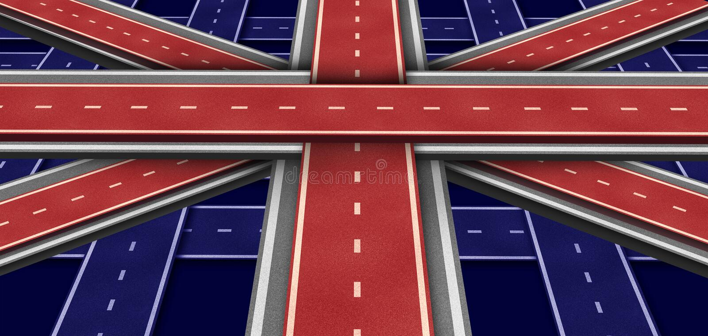 Indicateur D Omnibus De La Grande-Bretagne Image libre de droits