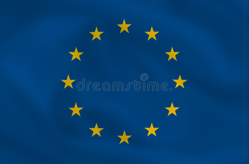 Indicateur d'UE illustration stock