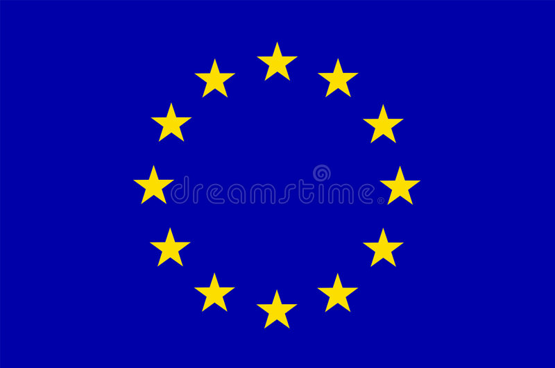 Indicateur d'UE l'Europe illustration de vecteur