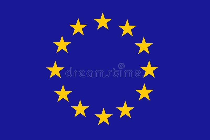 Indicateur d'Union européenne illustration de vecteur