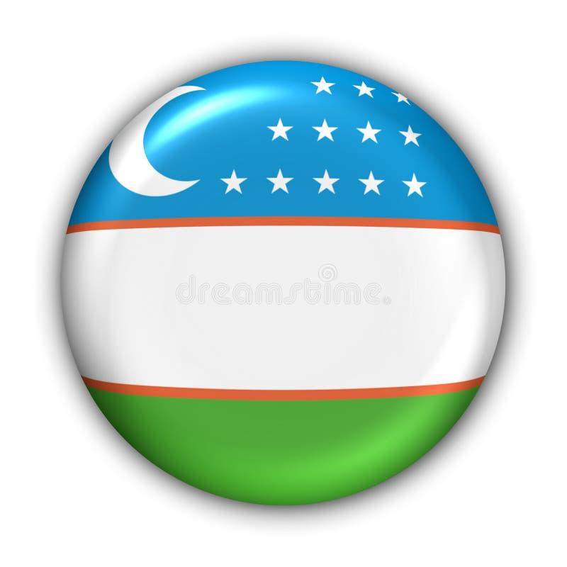 Indicateur d'Uzbekistan illustration libre de droits