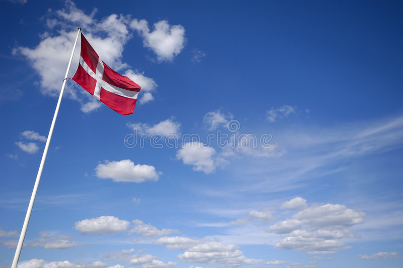 Indicateur danois image stock
