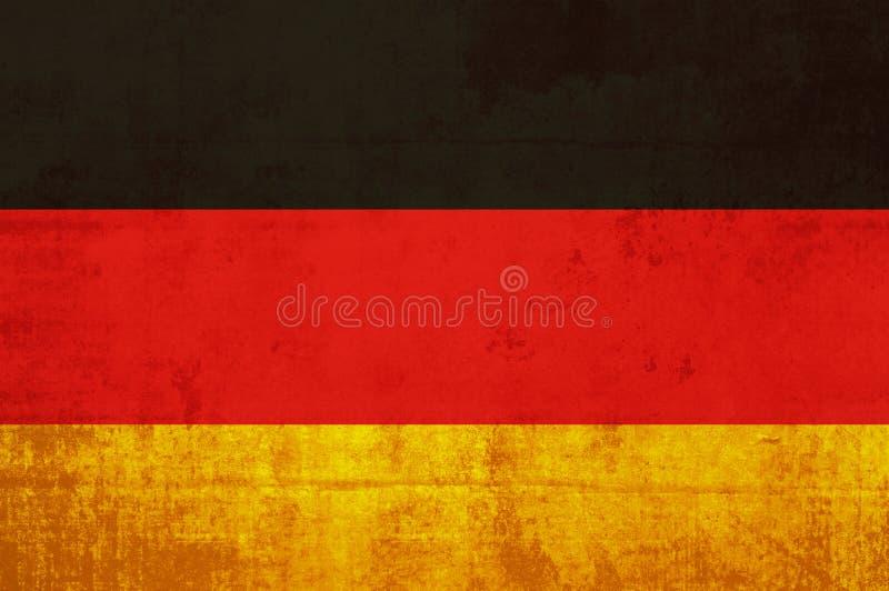 Indicateur de l'Allemagne illustration de vecteur