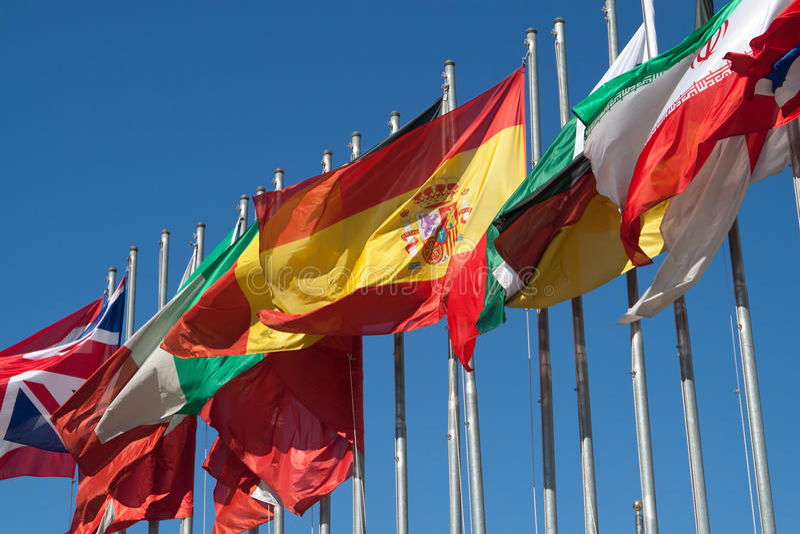 Indicateur de l'Espagne images stock