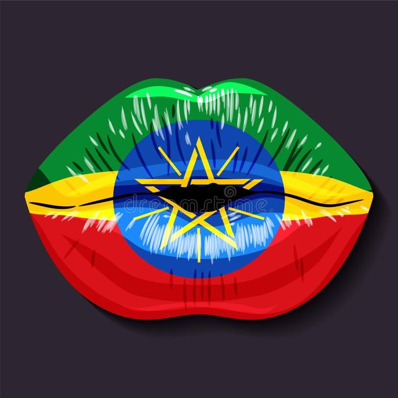 Indicateur de l'Ethiopie illustration libre de droits