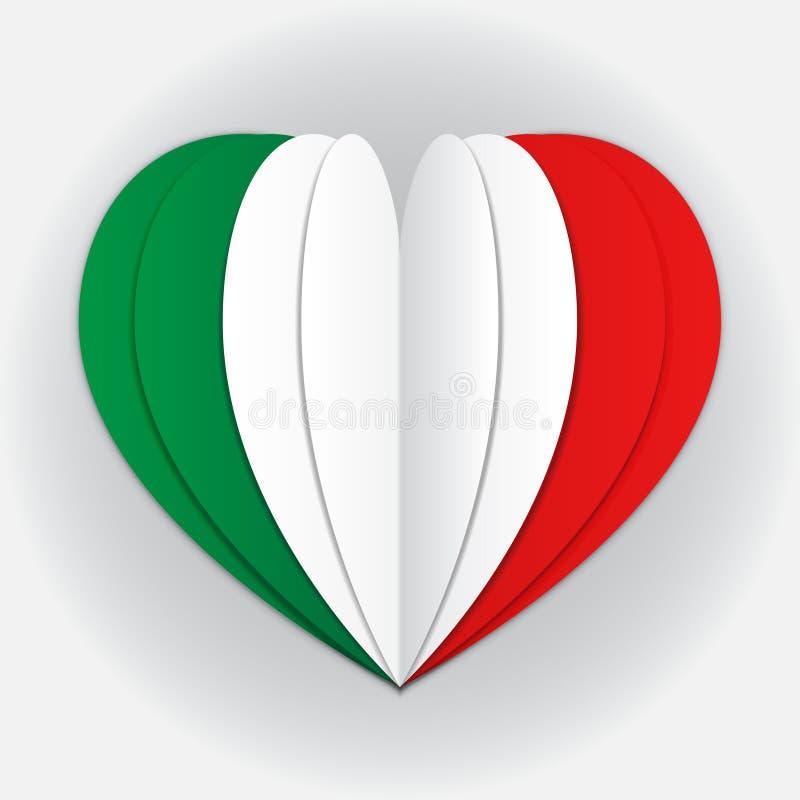 Indicateur de l'Italie illustration libre de droits