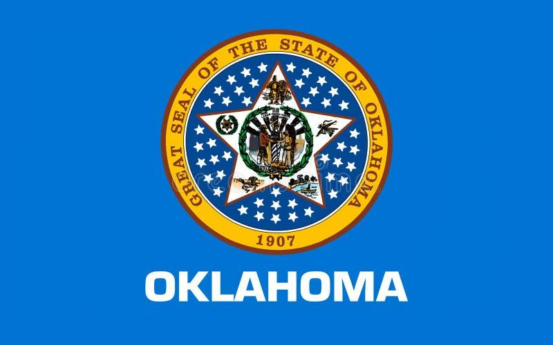 Indicateur de l'Oklahoma, Etats-Unis photographie stock libre de droits