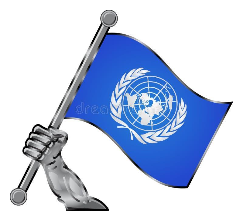 Indicateur de l'ONU illustration de vecteur