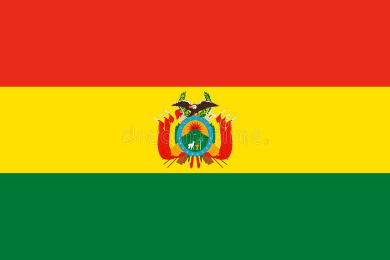 indicateur de la Bolivie illustration de vecteur