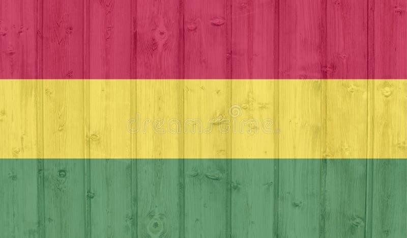 Indicateur de la Bolivie illustration libre de droits