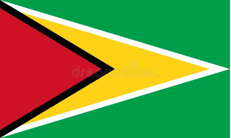 Indicateur de la Guyane illustration stock