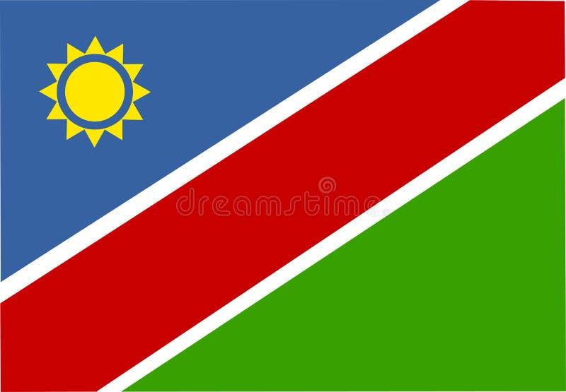 Indicateur de la Namibie illustration libre de droits