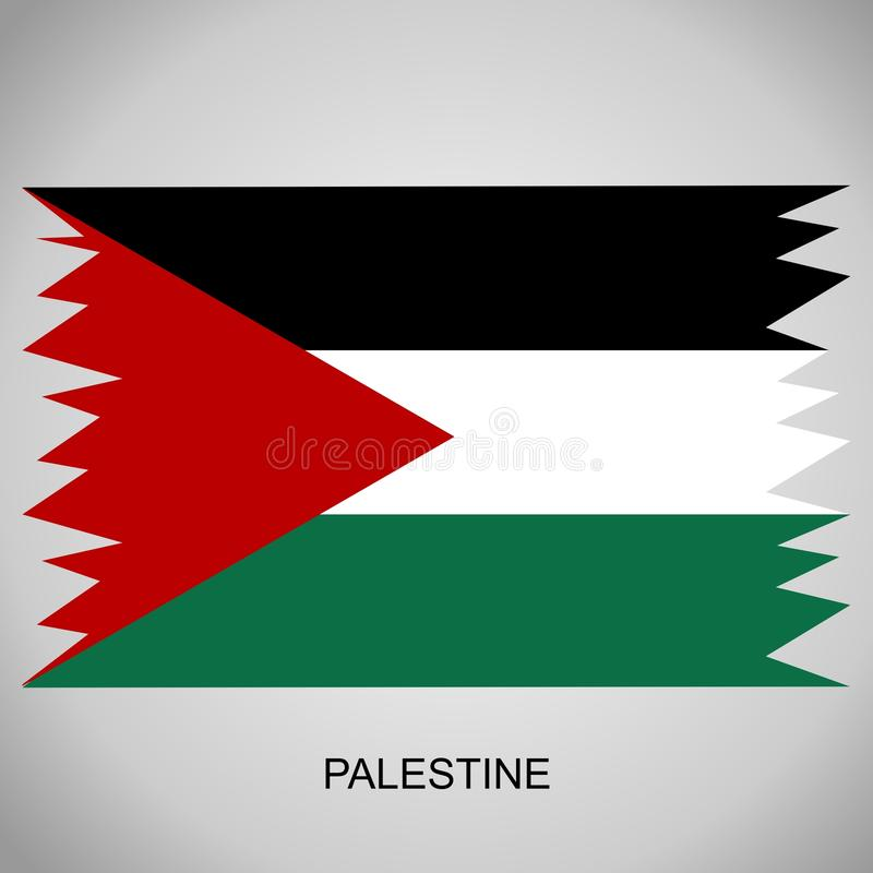 Indicateur de la Palestine images libres de droits