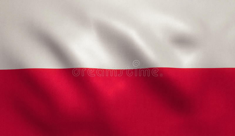 Indicateur de la Pologne image stock