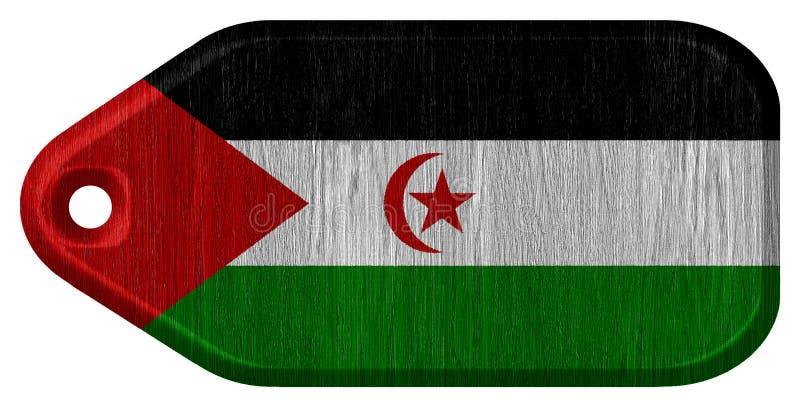 Indicateur de la Sahara occidental illustration libre de droits
