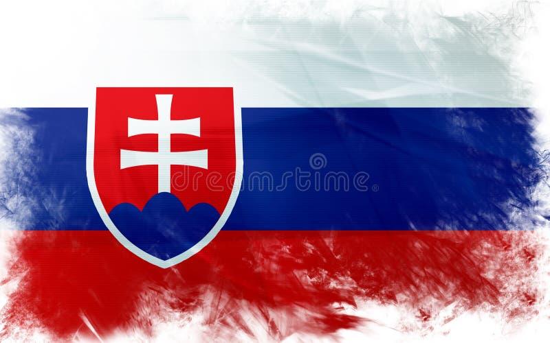 Indicateur de la Slovaquie illustration libre de droits