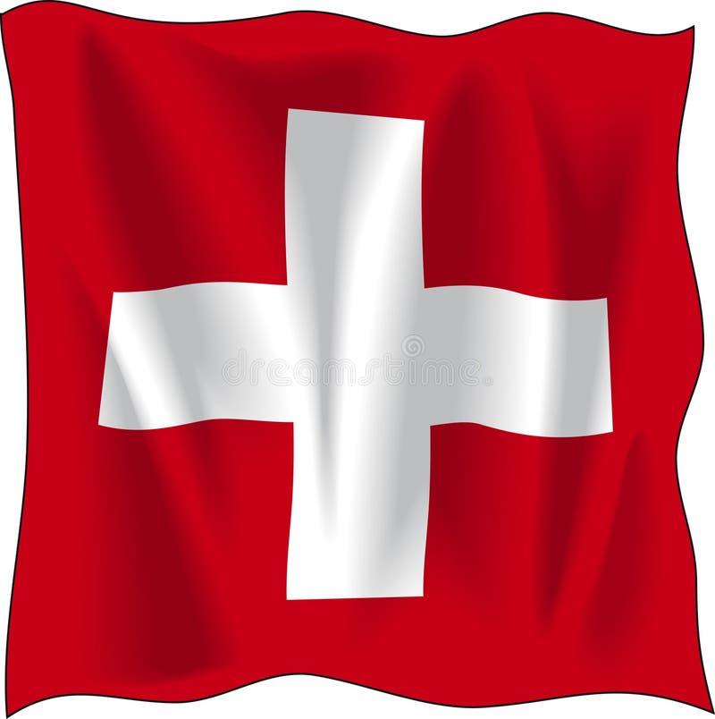 Indicateur de la Suisse illustration de vecteur