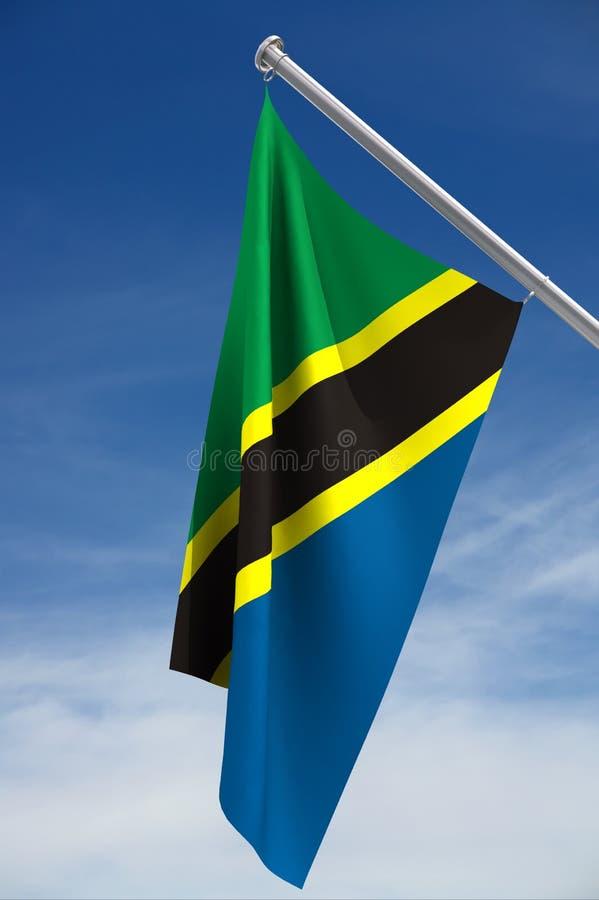 Indicateur de la Tanzanie photos libres de droits