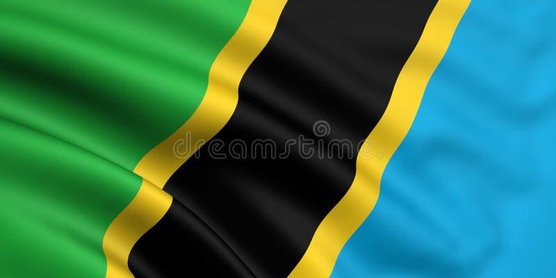 Indicateur de la Tanzanie photographie stock