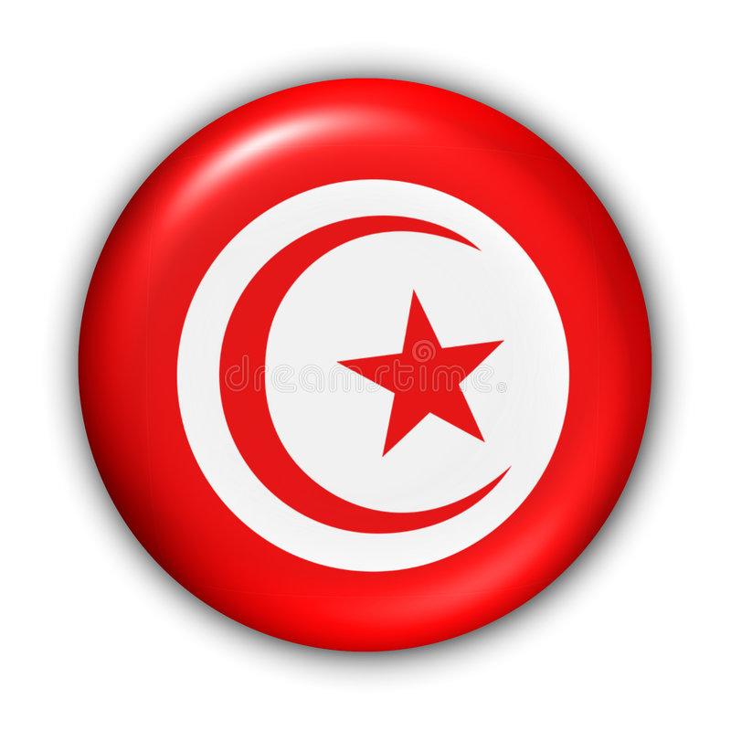 Indicateur de la Tunisie illustration libre de droits