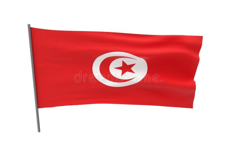Indicateur de la Tunisie photo stock