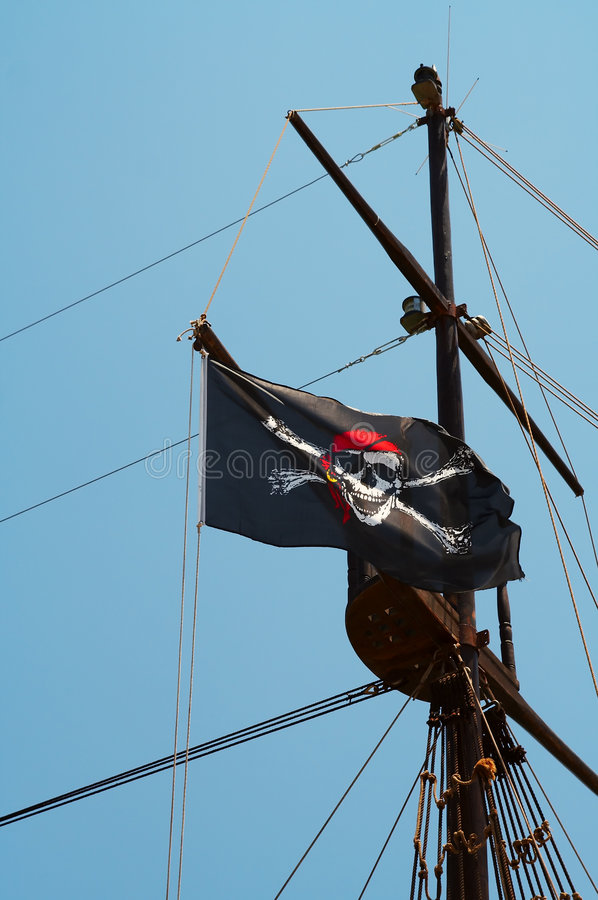 Indicateur de pirate photo stock