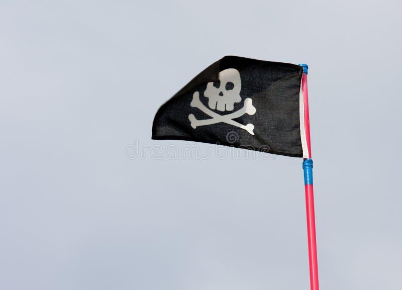 Indicateur de pirate noir photo libre de droits