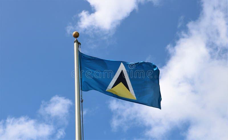 Indicateur de saint Lucia image libre de droits