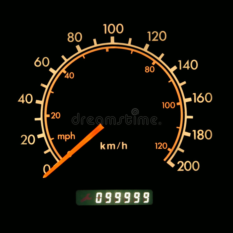 indicateur de vitesse image libre de droits