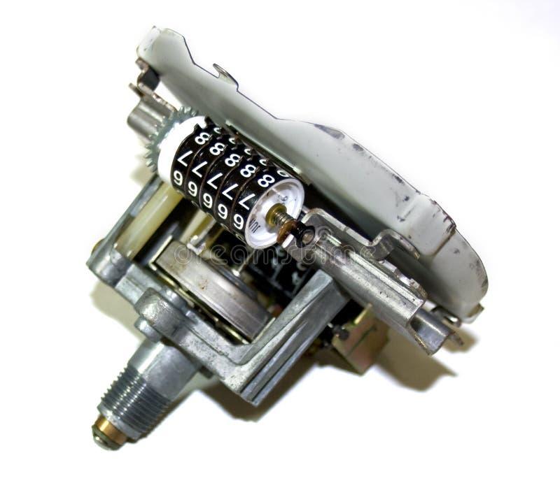 Indicateur de vitesse avec l'odomètre photos libres de droits