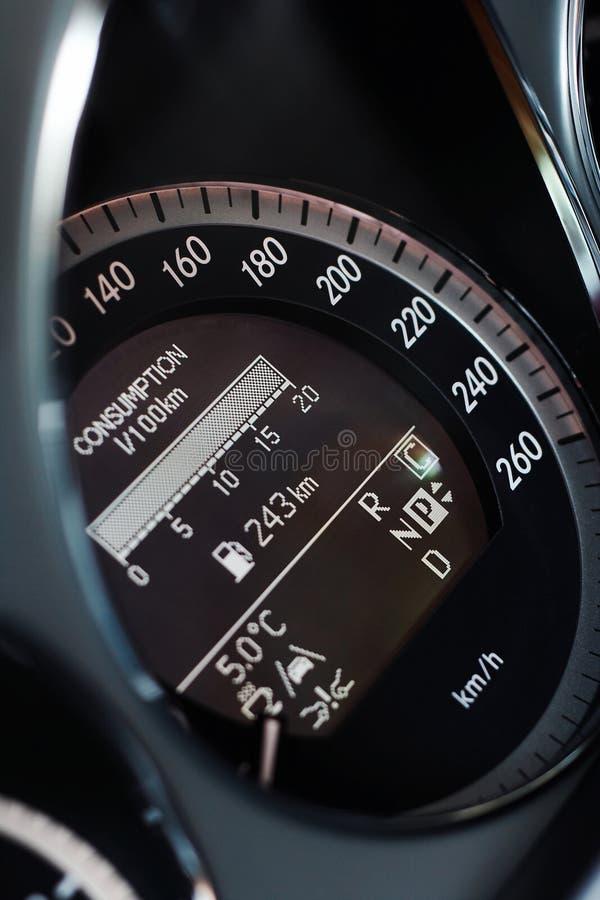 Indicateur de vitesse de véhicule rapide image libre de droits