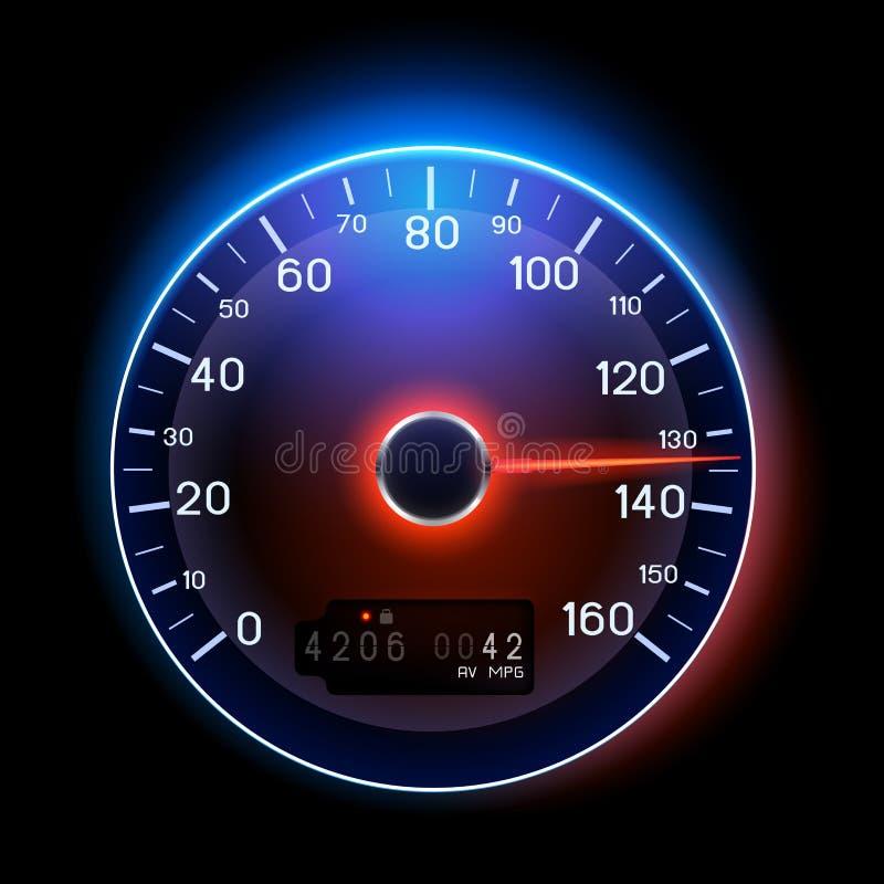 Indicateur de vitesse de vecteur