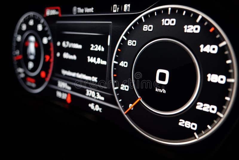 Indicateur de vitesse moderne photo stock