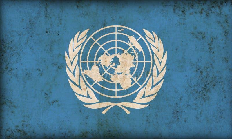 Indicateur des Nations Unies illustration de vecteur